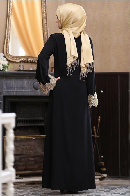 Hazem - Seren Elbise - Siyah