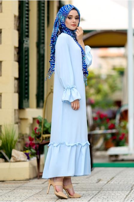 Hazem - Tomris Elbise - Bebe Mavisi