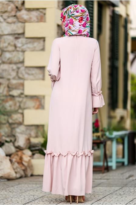 Hazem - Tomris Elbise - Pudra