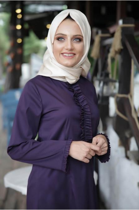 Eda Tunik - Mor - Hazem