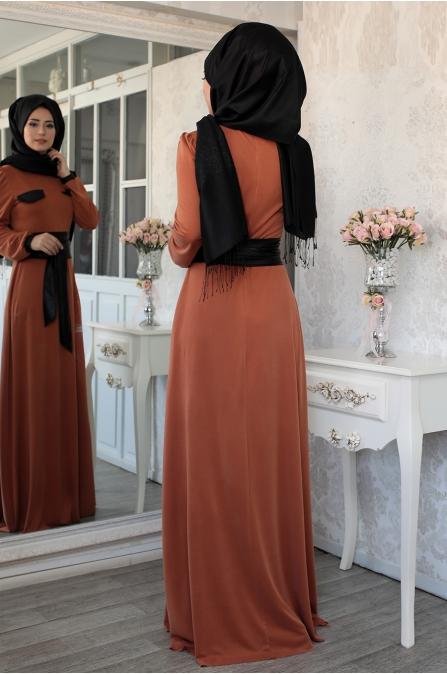 Lefzen - Safran Elbise - Kiremit