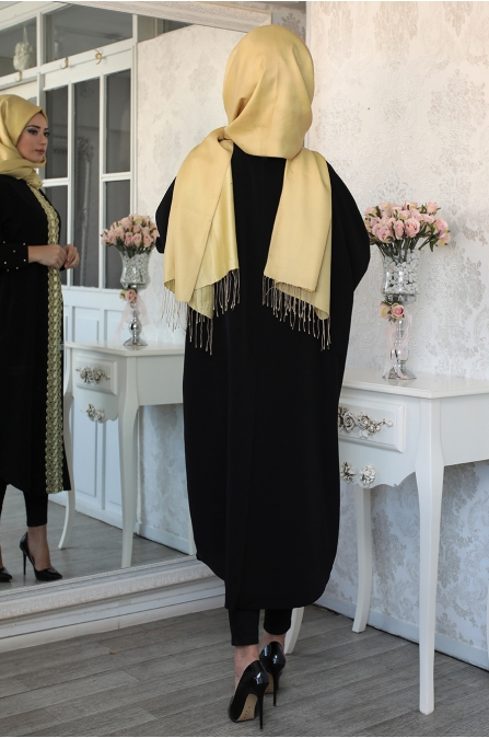 Lefzen - Ferda Ferace Tunik - Siyah