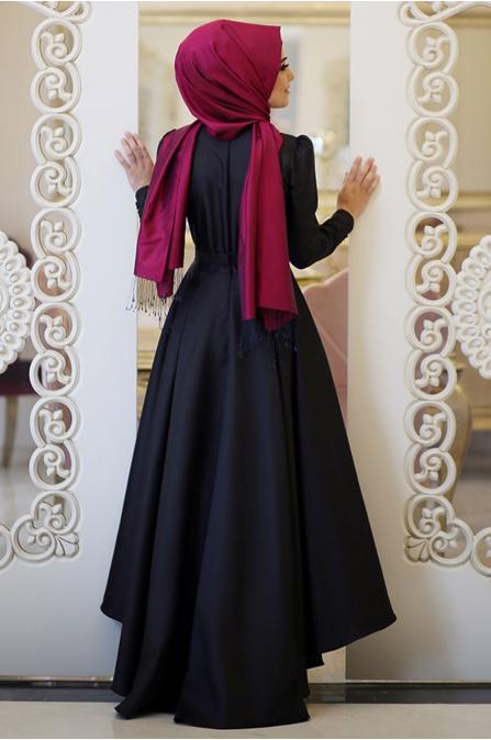 Beste Elbise - Siyah - Minel Aşk