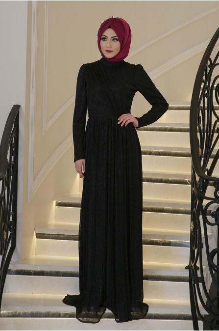 Lavin Elbise - Siyah - Minel Aşk