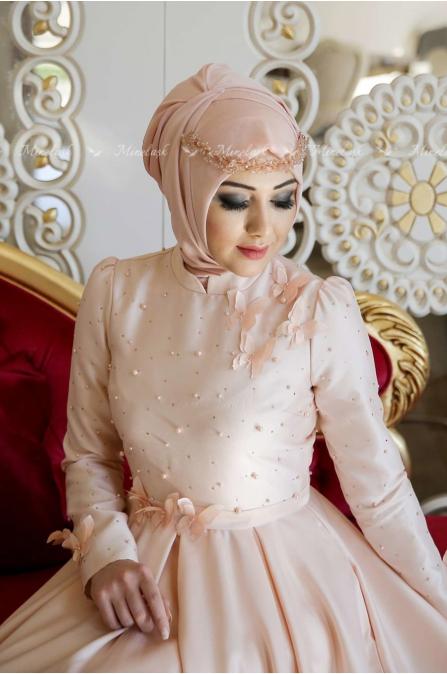 Minel Aşk - Monalisa Abiye - Somon