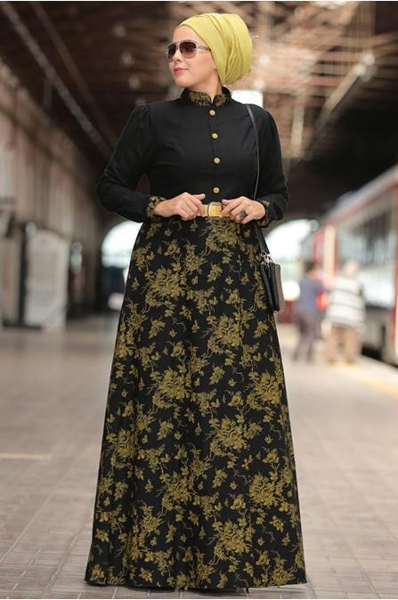Nesrin Emniyetli Rayiha Oksit Elbise