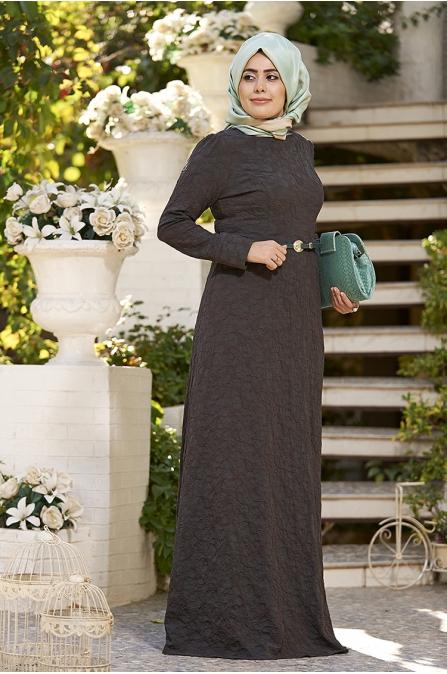 New Bahar Haki Elbise
