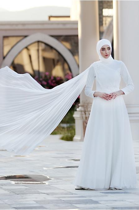 Alya Abiye - Ekru - Nurbanu Kural