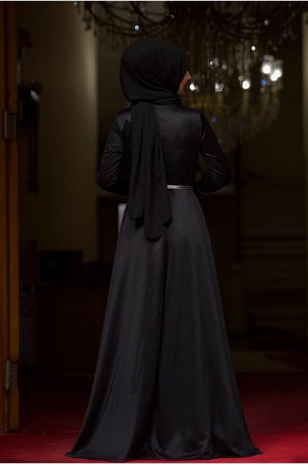 Işıl Abiye - Siyah - Nurgül Çakır