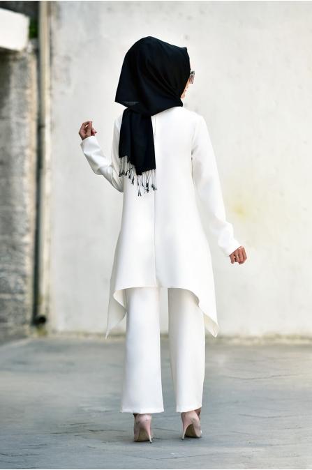 Nur Takım - Beyaz - Nurgül Çakır