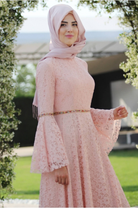 Nur Elbise Pudra - Nurkombin