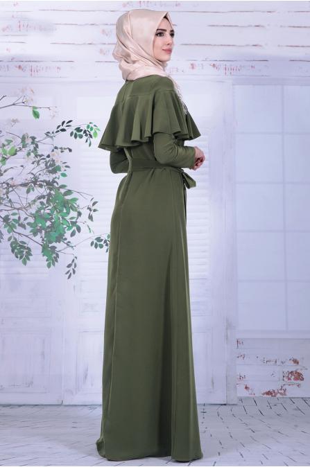 Nurkombin - Ahu Elbise - Haki