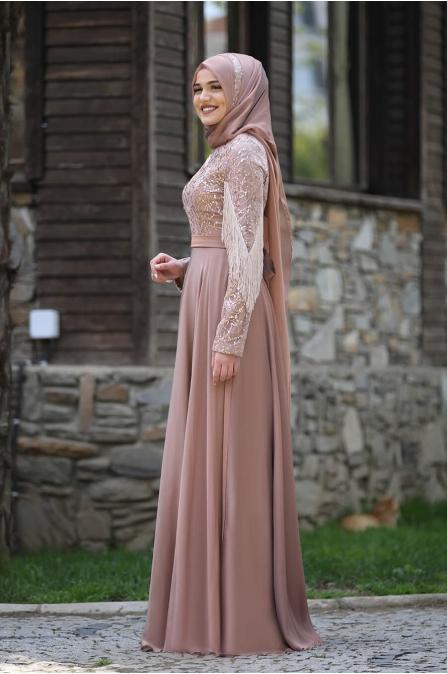 Açelya Abiye - Bakır - Piennar