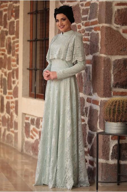 Piennar - Adevya Elbise - Su Yeşili