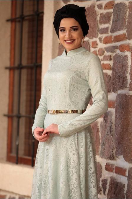 Piennar - Leyla Elbise - Su Yeşili