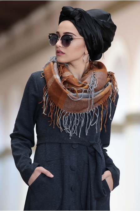 Piennar - Camel Elbise - Antrasit
