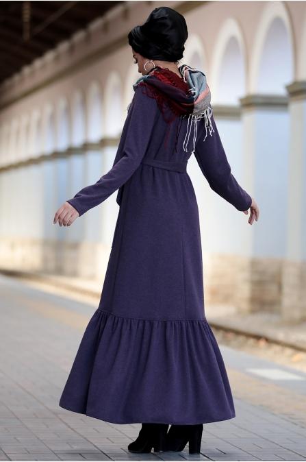 Piennar - Camel Elbise - Mor
