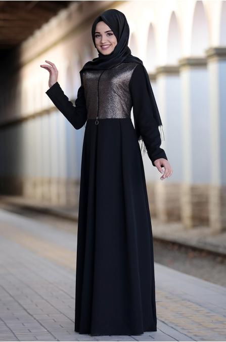Piennar - Pien Elbise - Siyah