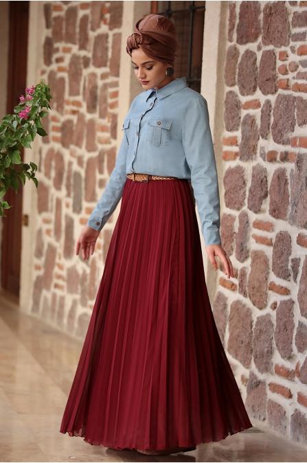 Piennar - Eliz Kot Takım Elbise - Bordo