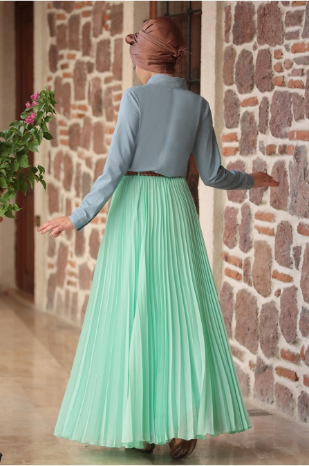 Piennar - Eliz Kot Takım Elbise - Mint