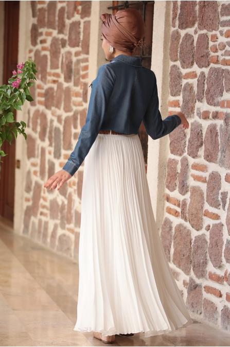 Piennar - Eliz Kot Takım Elbise - Ekru