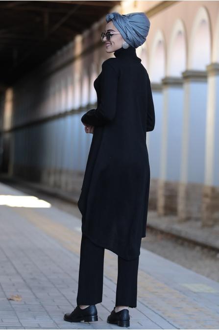 Piennar - Şimal Triko Takım - Siyah
