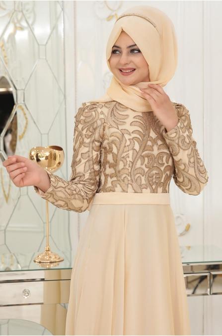 Ecrin Abiye - Gold - Pınar Şems
