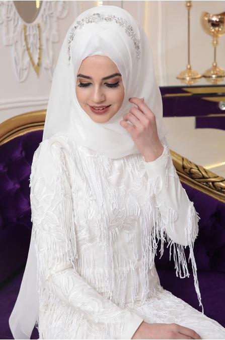 Gülistan Abiye - Ekru - Pınar Şems