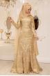 Nursena Abiye - Gold - Pınar Şems
