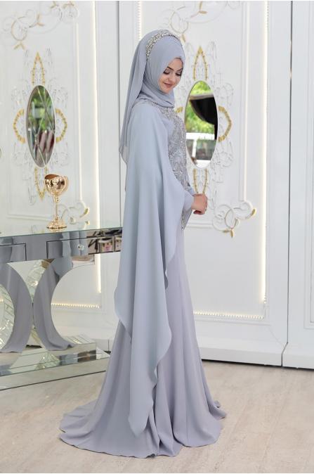 Sare Abiye - Gri - Pınar Şems