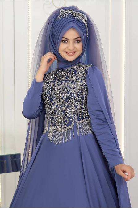 Şehrazat  Abiye - Leylak - Pınar Şems