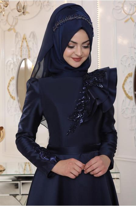 Selen Abiye - Lacivert - Pınar Şems