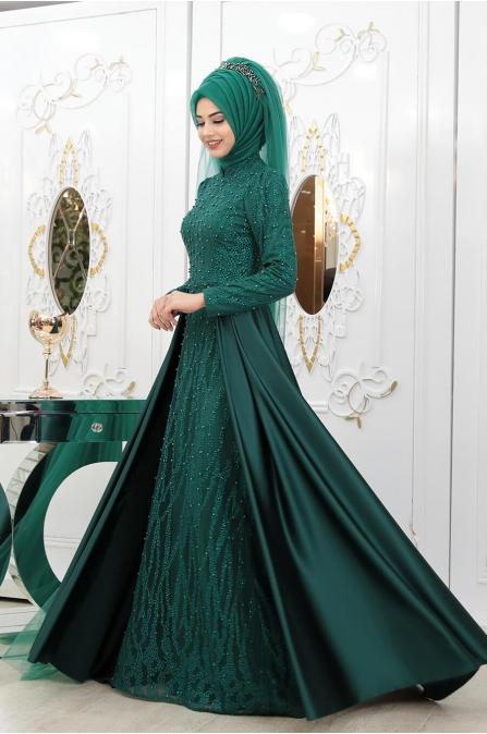 Yeni İkbal Abiye - Zümrüt - Pınar Şems
