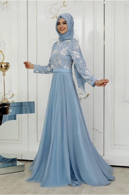 Çiğdem Abiye - Mavi - Pınar Şems