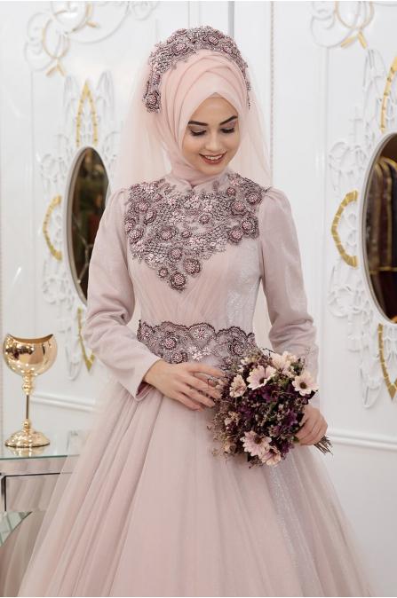 Simli Sahra Abiye - Pudra - Pınar Şems
