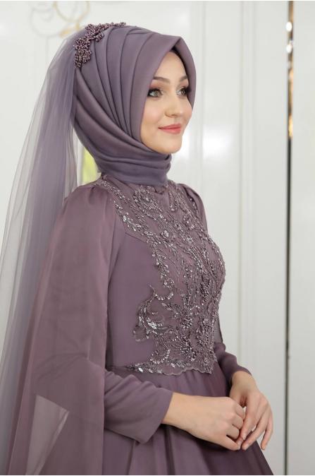 Yeni Beste Abiye - Lila - Pınar Şems