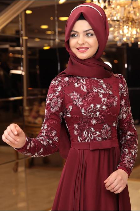 Melike Abiye - Bordo - Pınar Şems