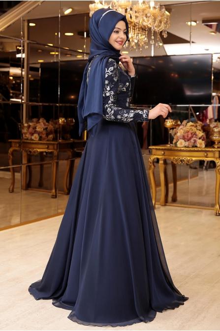 Melike Abiye - Lacivert - Pınar Şems