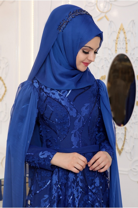 Pınar Şems - Yaprak Abiye - Saks
