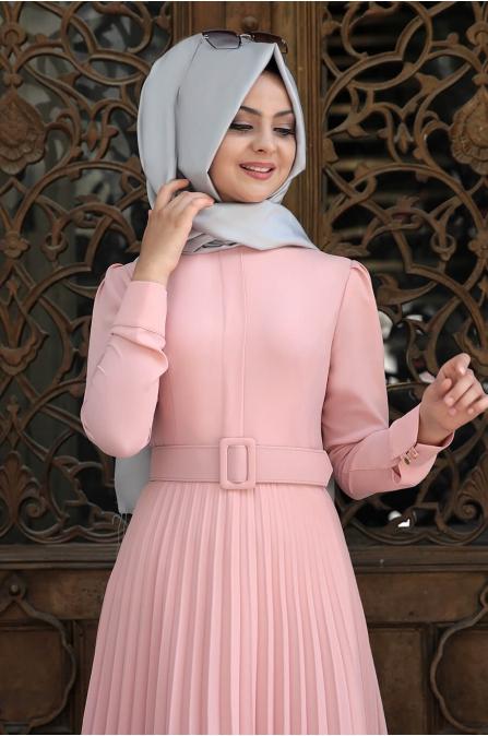 Piliseli Elbise Pudra - Pınar Şems