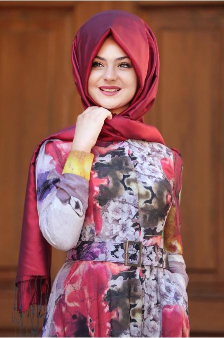 Çırağan Elbise - Kırmızı - Pınar Şems
