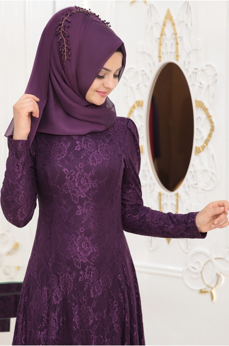 Duru Elbise - Mor - Pınar Şems