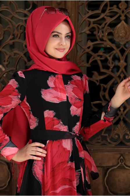 Elif Elbise - Siyah - Pınar Şems