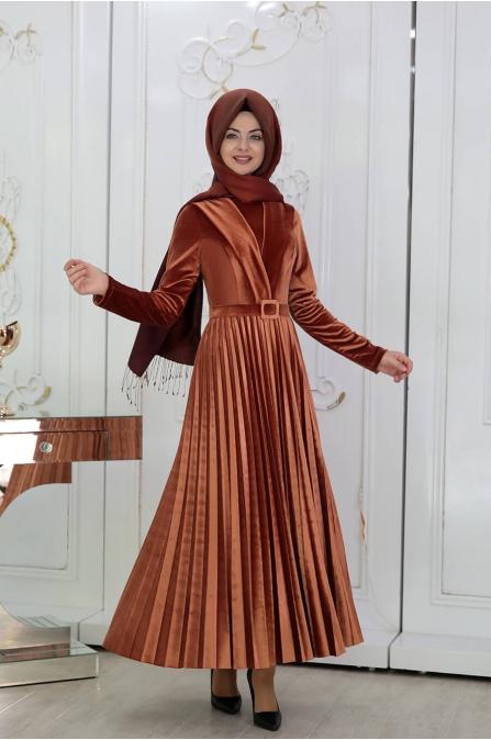 Gökçe Elbise - Bakır - Pınar Şems