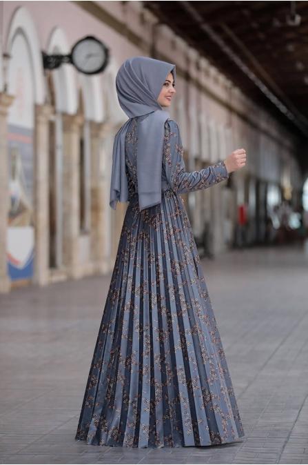 Henna Elbise - İndigo - Pınar Şems