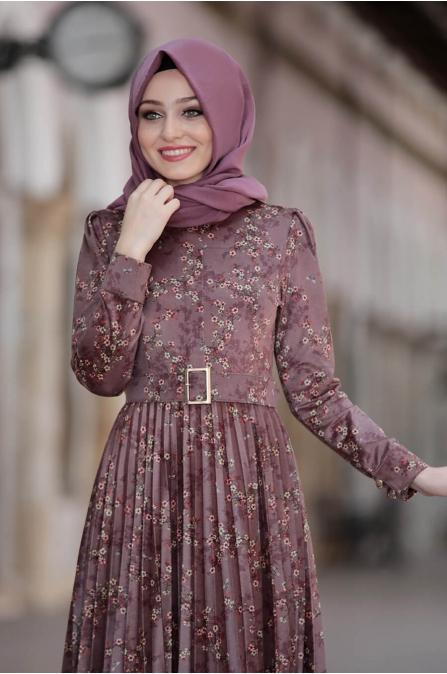 Henna Elbise - Lila - Pınar Şems