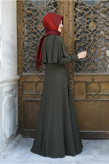 Reyhan Elbise - Haki - Pınar Şems