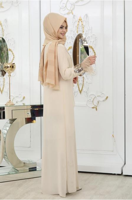 Nilüfer 3'lü Takım - Gold - Pınar Şems
