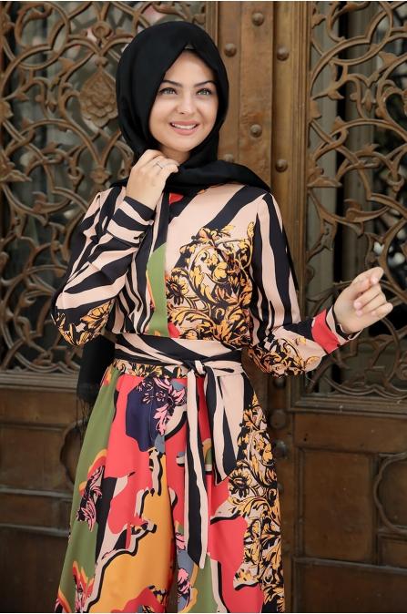 Yaz Tulum - Desenli - Pınar Şems