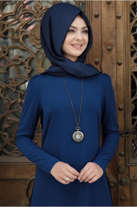 Pınar Tunik - İndigo - Pınar Şems